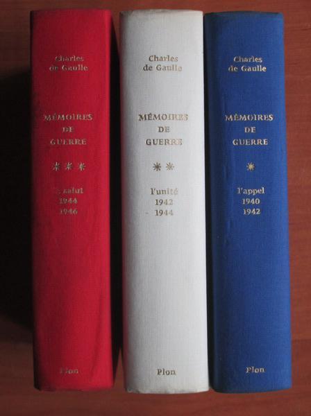 Anticariat: Charles de Gaulle - Memoires de guerre (3 volume)