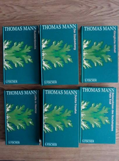 Anticariat: Thomas Mann - Buddenbrooks. Lotte in Weimar. Bekenntnisse des Hochstaplers Felix Krull. Doktor Faustus. Konigliche Hoheit. Der Zauberberg