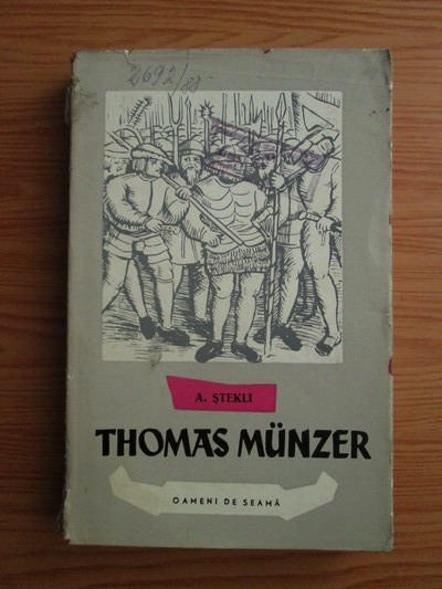 Anticariat: A. Stekli - Thomas Munzer
