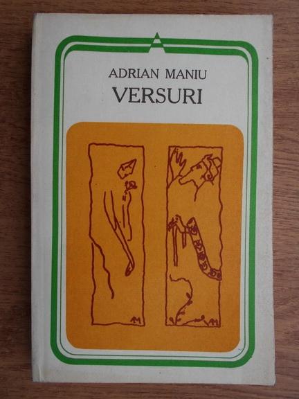 Anticariat: Adrian Maniu - Versuri