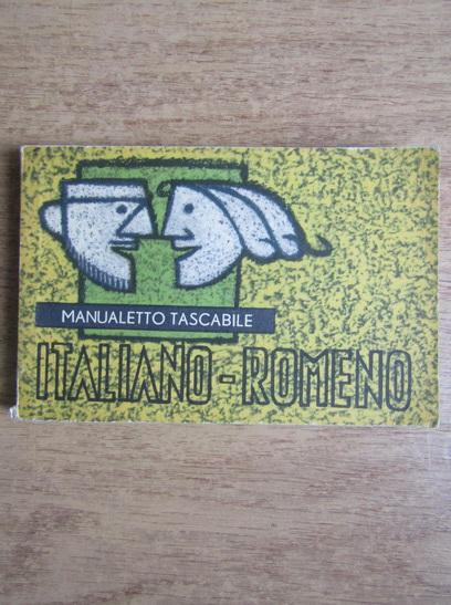 Anticariat: Adriana Lazarescu - Ghid de conversatie italian - roman. Manualetto tascabile italiano - romeno