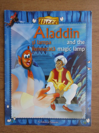 Anticariat: Aladdin si lampa fermecata (editie bilingva)