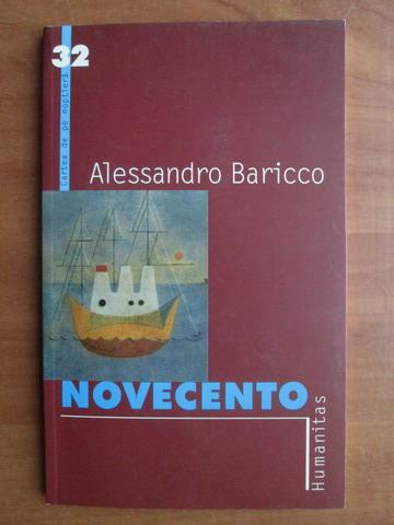 Anticariat: Alessandro Baricco - Novecento