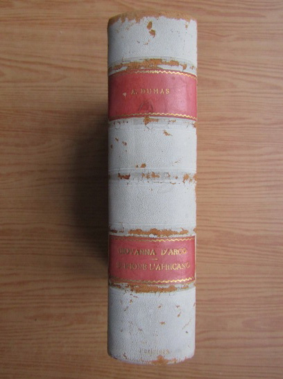 Anticariat: Alexandre Dumas - Giovanna d'Arco (1936)