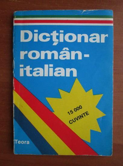 Anticariat: Alexandru Balaci - Mic dictionar roman-italian (15.000 cuvinte)
