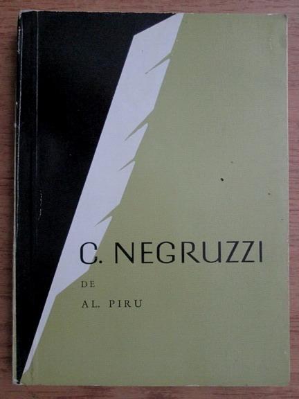 Anticariat: Alexandru Piru - C. Negruzzi