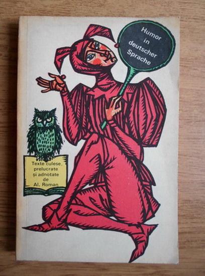 Anticariat: Alexandru Roman - Humor in deutscher Sprache