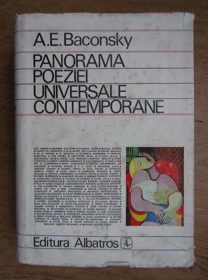 Anticariat: Anatol E. Baconsky - Panorama poeziei universale contemporane