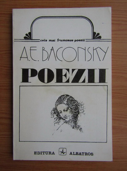 Anticariat: Anatol E. Baconsky - Poezii