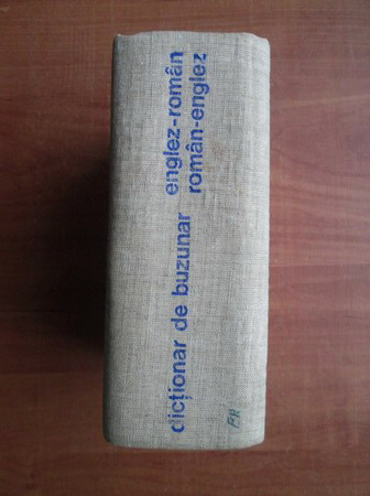 Anticariat: Andrei Bantas - Dictionar de buzunar Englez-Roman, Roman-Englez