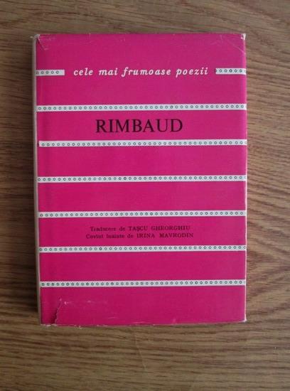 Anticariat: Arthur Rimbaud - Cele mai frumoase poezii
