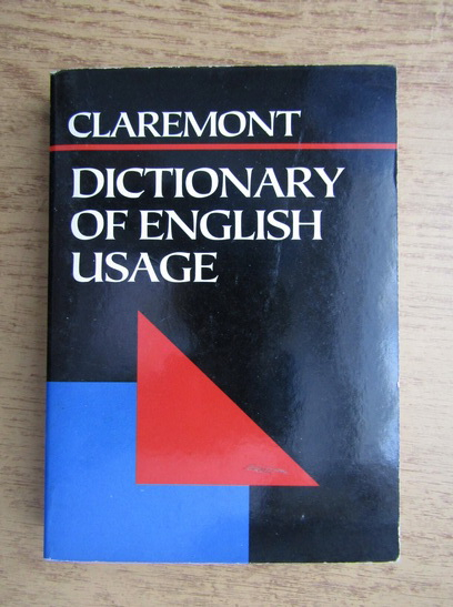 Anticariat: Betty Kirkpatrick - Claremont dictionary of english usage
