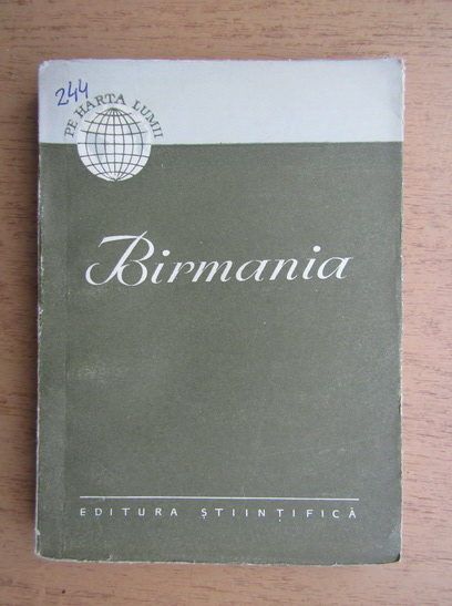 Anticariat: Birmania