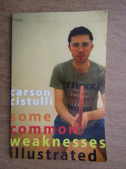 Anticariat: Carson Cistulli - Some common weaknesses illustrated