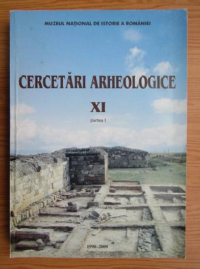Anticariat: Cercetari arheologice (volumul 11, partea I)
