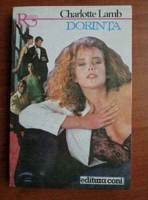 Anticariat: Charlotte Lamb - Dorinta
