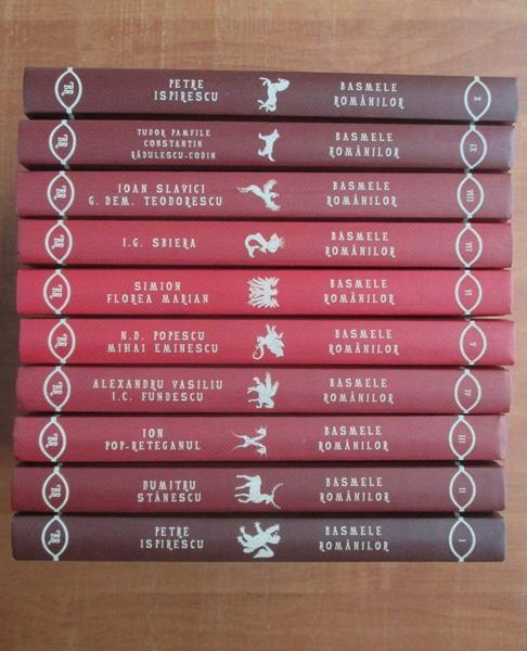 Anticariat: Colectia Basmele romanilor (10 volume)