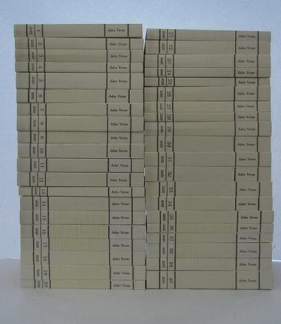 Anticariat: Colectia integrala JULES VERNE - Adevarul (40 volume)