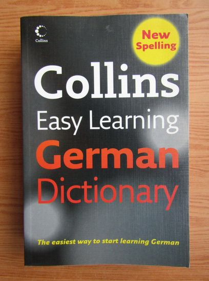 Anticariat: Collins. Easy learning. German dictionary