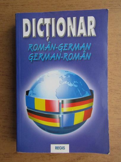 Anticariat: Constantin Teodor - Dictionar roman-german, german-roman