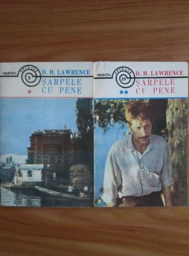 Anticariat: D. H. Lawrence - Sarpele cu pene (2 volume)