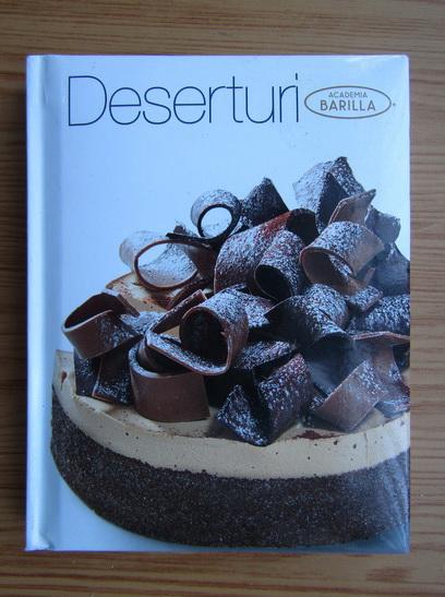 Anticariat: Deserturi. Academia Barilla
