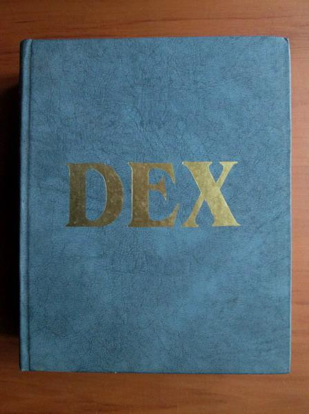 Anticariat: DEX - Dictionarul Explicativ al Limbii Romane - editia 1996