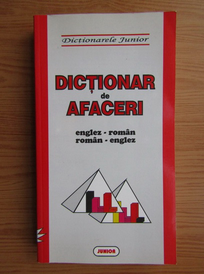 Anticariat: Dictionar de afaceri roman-englez