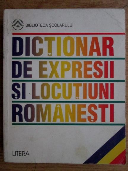 Anticariat: Dictionar de expresii si locutiuni romanesti