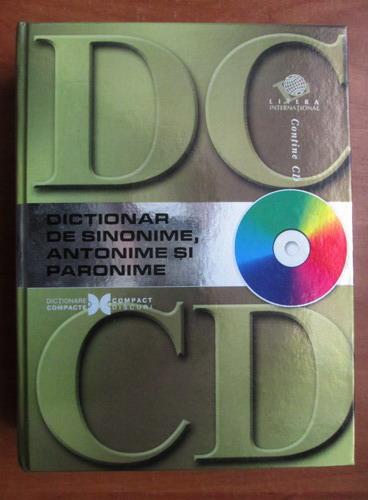 Anticariat: Dictionar de sinonime, antonime si paronime