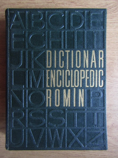 Anticariat: Dictionar enciclopedic roman (volumul 2)