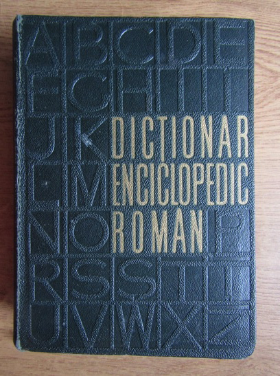 Anticariat: Dictionar enciclopedic roman (volumul 4)