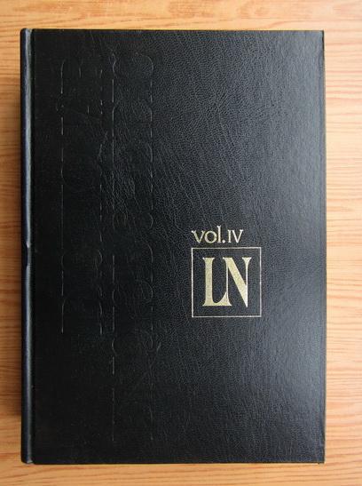 Anticariat: Dictionar enciclopedic (volumul 4)