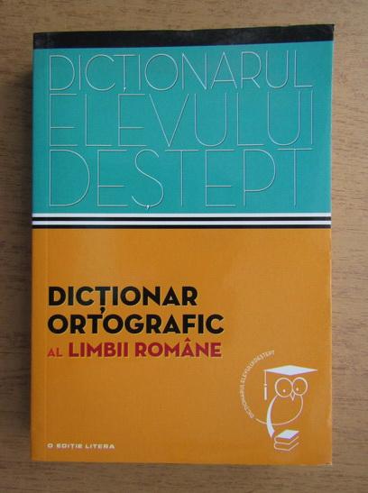 Anticariat: Dictionar ortografic al limbii romane