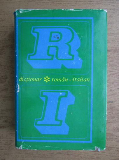 Anticariat: Dictionar roman-italian