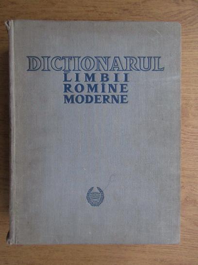 Anticariat: Dictionarul limbii romane moderne