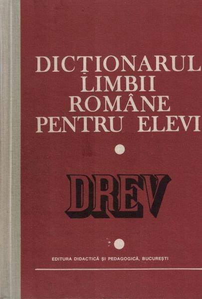 Anticariat: Dictionarul limbii romane pentru elevi (1983)