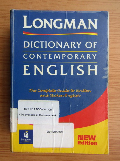 Anticariat: Dictionary of contemporary english