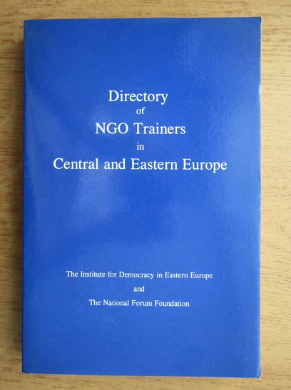 Anticariat: Directory of NGO trainers in Central and Eastern Europe