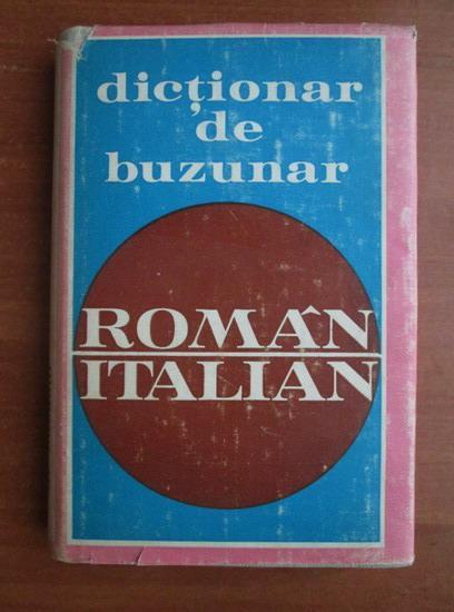 Anticariat: Doina Condrea-Derer - Dictionar de buzunar roman-italian