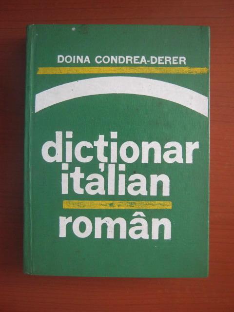 Anticariat: Doina Condrea-Derer - Dictionar Italian-Roman