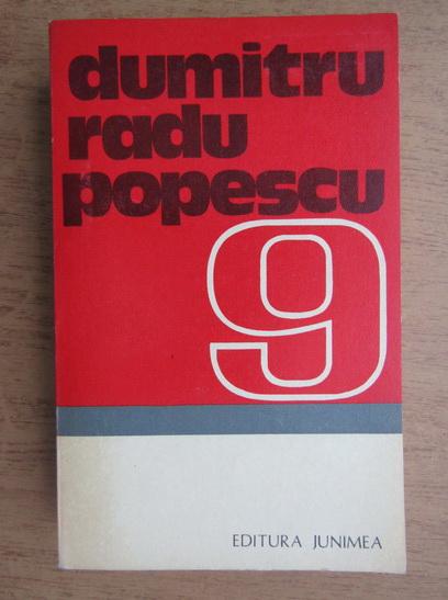 Anticariat: Dumitru Radu Popescu - O pasare dintr-o alta zi. Hotul de vulturi. Pasarea Shakespeare (volumul 9)
