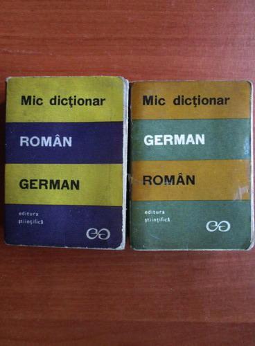 Anticariat: E. Sireteanu - Mic dictionar german-roman, roman-german (2 volume)