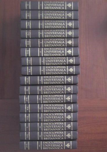 Anticariat: Enciclopedia Universala Britannica (16 volume)