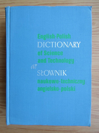 Anticariat: English-polish dictionary of science and technology