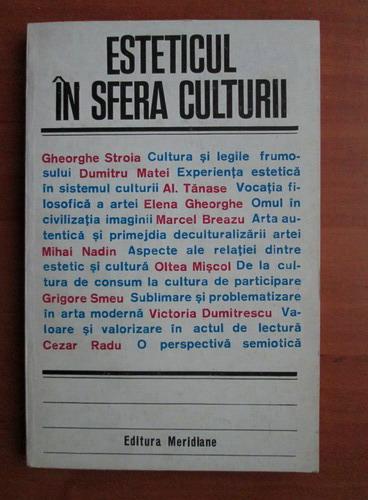 Anticariat: Esteticul in sfera culturii