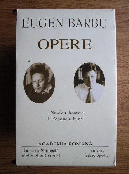 Anticariat: Eugen Barbu - Opere (2 volume)