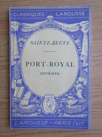 Anticariat: Felix Guirand - Port-Royal (1936)