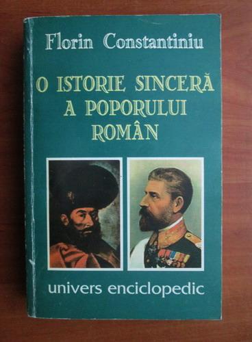 Anticariat: Florin Constantiniu - O istorie sincera a poporului roman