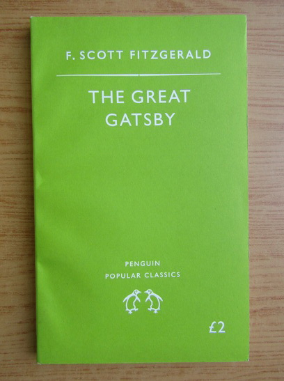 Anticariat: Francis Scott Fitzgerald - The great Gatsby